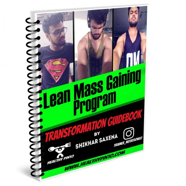 Lean Mass Gaining Program E-Book