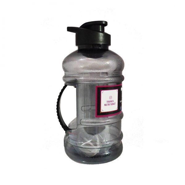 Trainer_Nutritionist 1.5 L Bpa Free Gallon Water Bottle